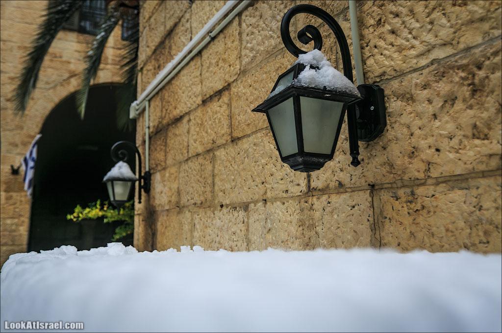 Снег в Иерусалиме. Часть I – Ночные приключения на заснеженных автотрассах и Старый город | LookAtIsrael.com - Фотографии Израиля и не только...