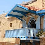 голубой балкон в яффо.JPG