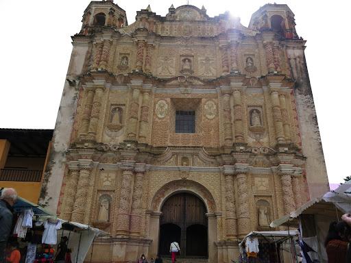 Facade of the Santo Domingo Church
