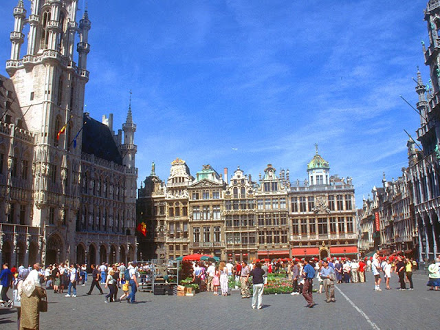 Брюссель. Верхний город