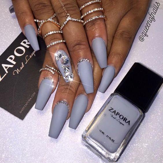 gel nail art design