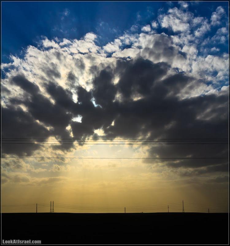 Одно фото / Израиль, закат в Негеве