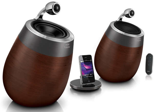 Philips Fidelio speakers