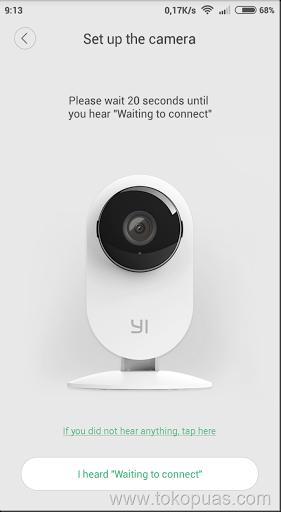 tutorial koneksi xiaomi ants camera