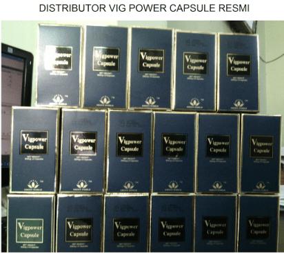 Distributor Vig Power Capsule