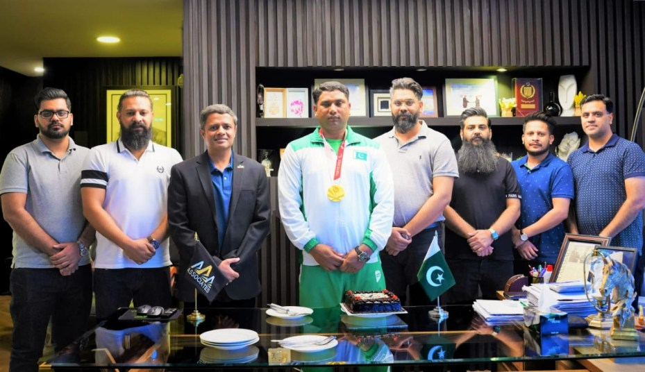 AAA Associates announces sponsorship of Paralympian Haider Ali