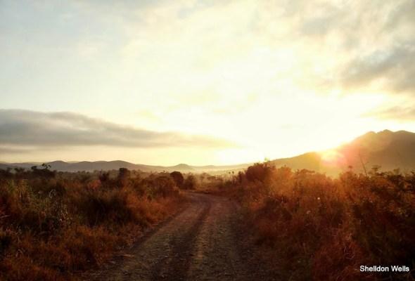 Exploring roads in KwaZulu-Natal
