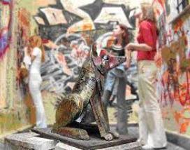 Памятник бродячей собаке