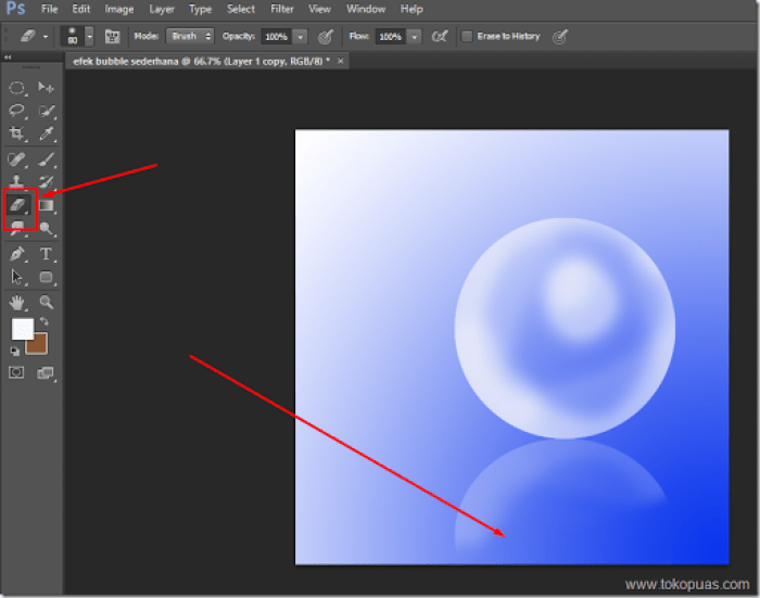 tutorial trik efek bubble photoshop