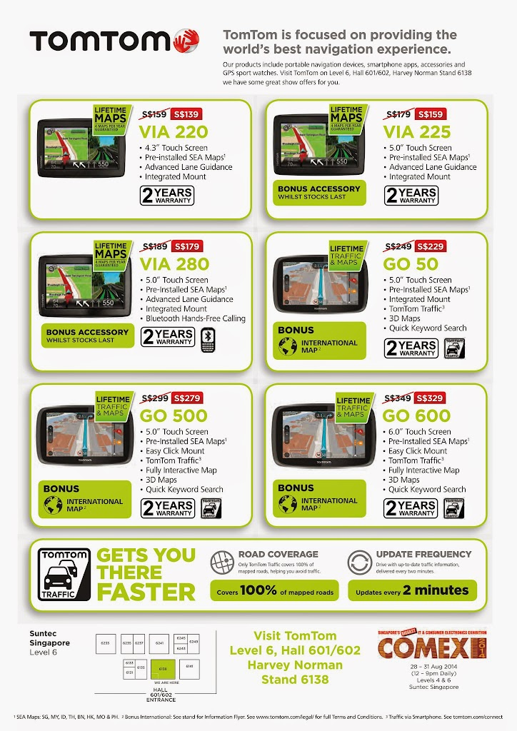 TomTom COMEX 2014 Flyer - Page 1