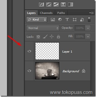 tutorial membuat layer baru photoshop trik