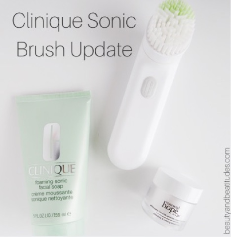 Clinique Sonic Brush Update