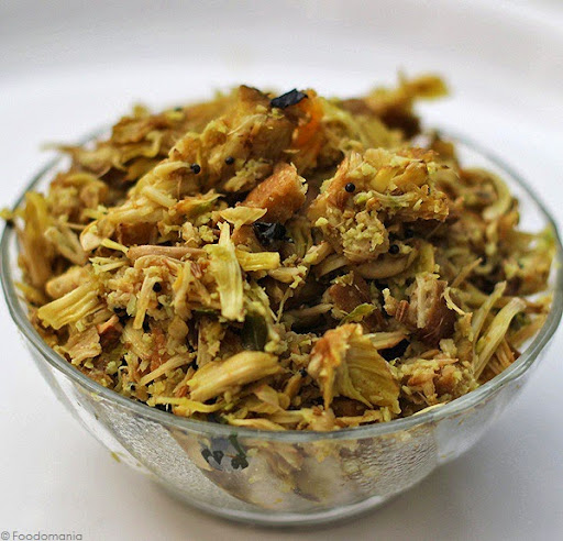 Jackfruit Stir Fry Recipe | South Indian Raw Jack fruit curry -Palamoos