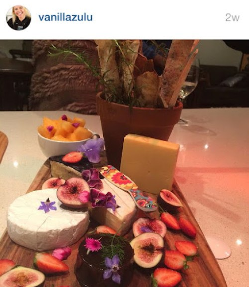 Vanilla Zulu's instagram - cheeseboard