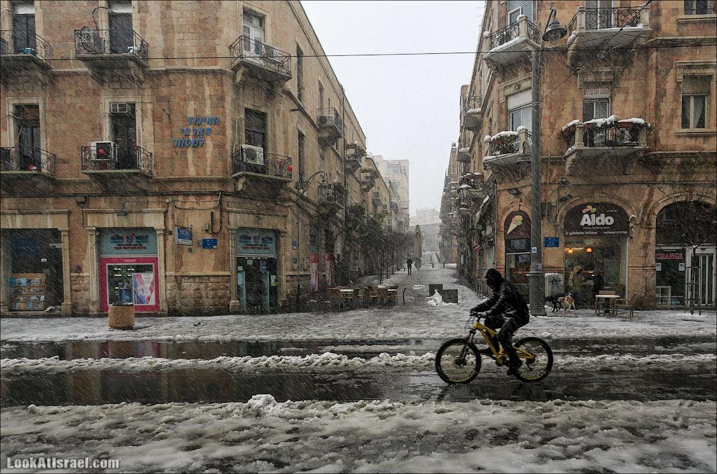 Снег в Иерусалиме | Snow in Jerusalem | שלג בירושלים