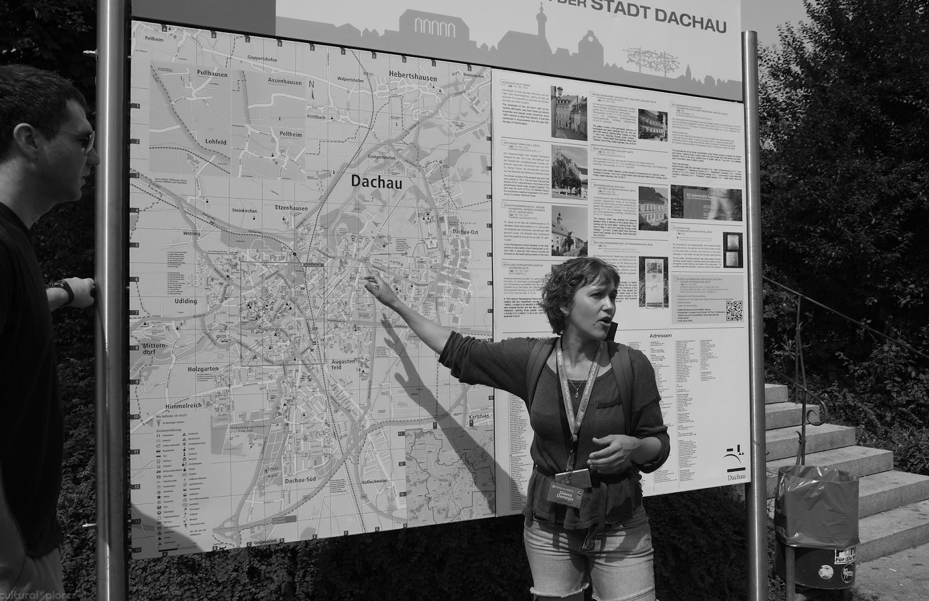 Dachau Map