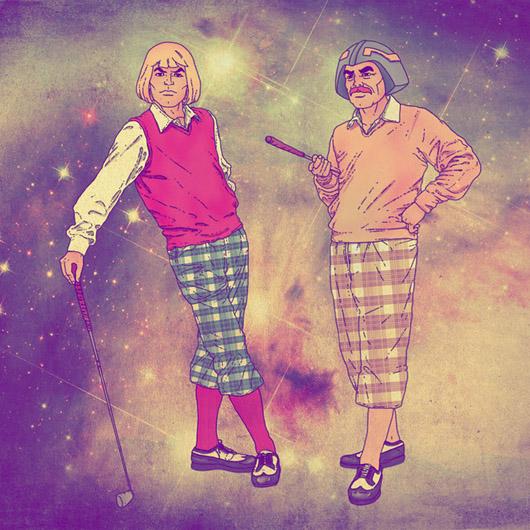 Fab Ciraolo arte He-Man golfe