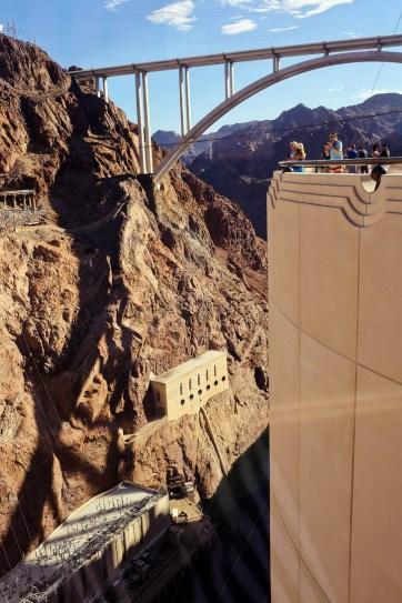 Las Vegas to Hoover Dam.