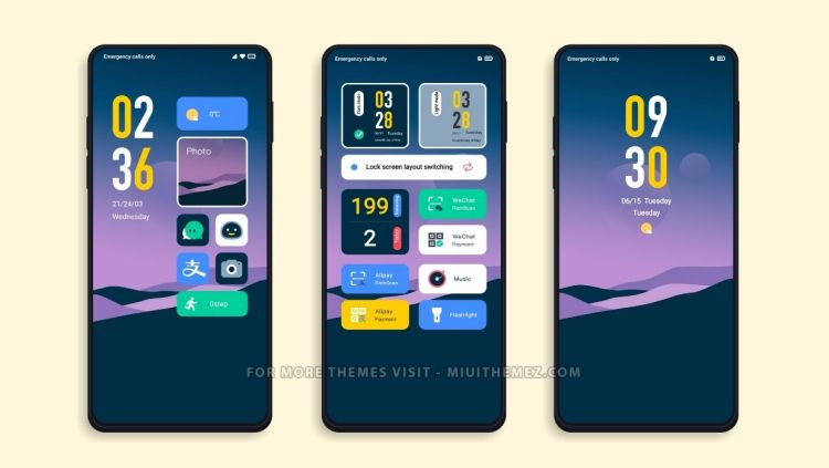[DOWNLOAD] : Home Pro MIUI Theme with 2 Lockscreen Styles for Xiaomi Devices