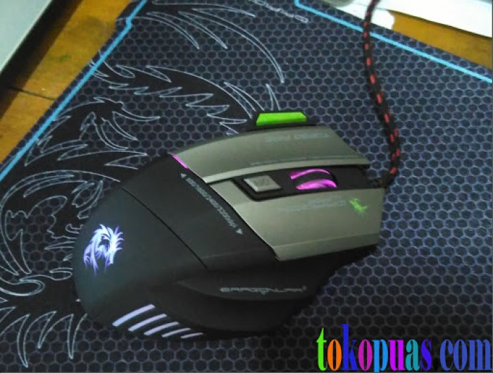 mouse gaming dragonwar thor g9