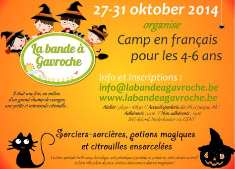 Affiche camp d'Octobre
