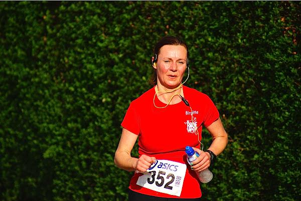 Brigitte van de Rode Lopers, 10 km prestatieloop, Krottegemse Corrida 2013, Roeselare Loopt