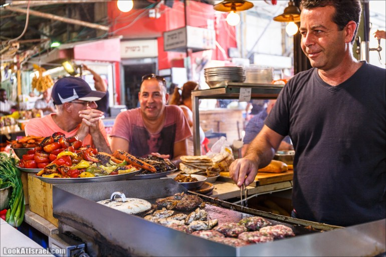 Самый яркий рынок Тель-Авива - Кармель | Carmel market in Tel Aviv | שוק כרמל בתל אביב | LookAtIsrael.com - Фото путешествия по Израилю
