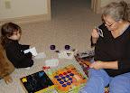 Nov, 2006 - Isabella and Nonni (grandma Celeste)