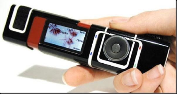 handphone zaman dahulu dengan bentuk aneh