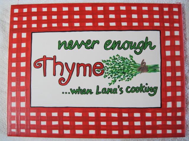 Food Blogger Trivet Tile