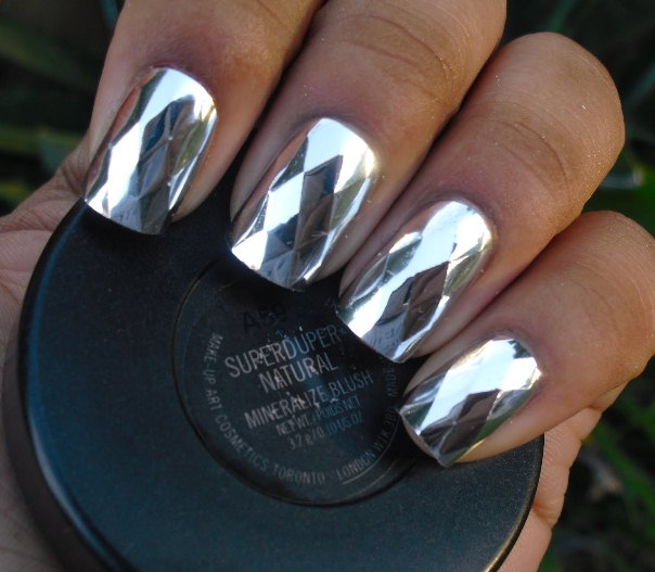 Black Is Beautiful In This Eye Catching And Definitely One Of A Kind French Manicure