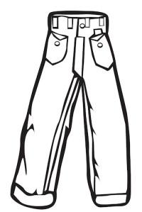 Dibujos de pantalones