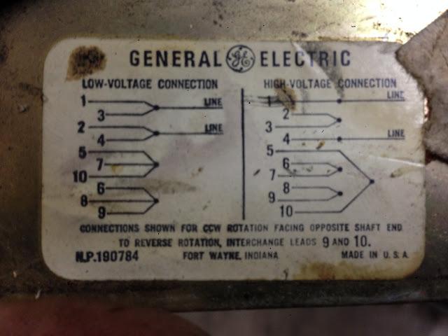 ge wiring diagrams trane weathertron baystat 239 thermostat diagram g.e. tri-clad 10 wire motor - vintagemachinery.org knowledge base (wiki)