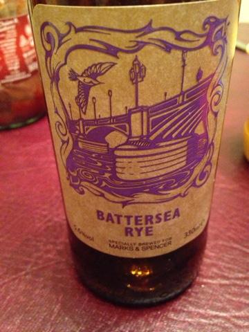 Battersea Rye by Sambrooks Brewery