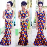 latest prints ankara long gowns 2017