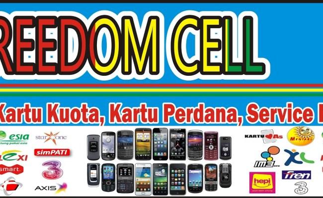 Contoh Desain Spanduk Cellular Jual Pulsa Cdr Jasa - Cute766
