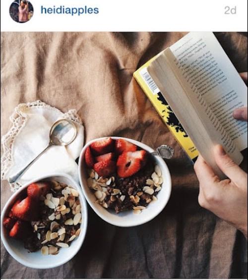 Heidiapples instagram - breakfast