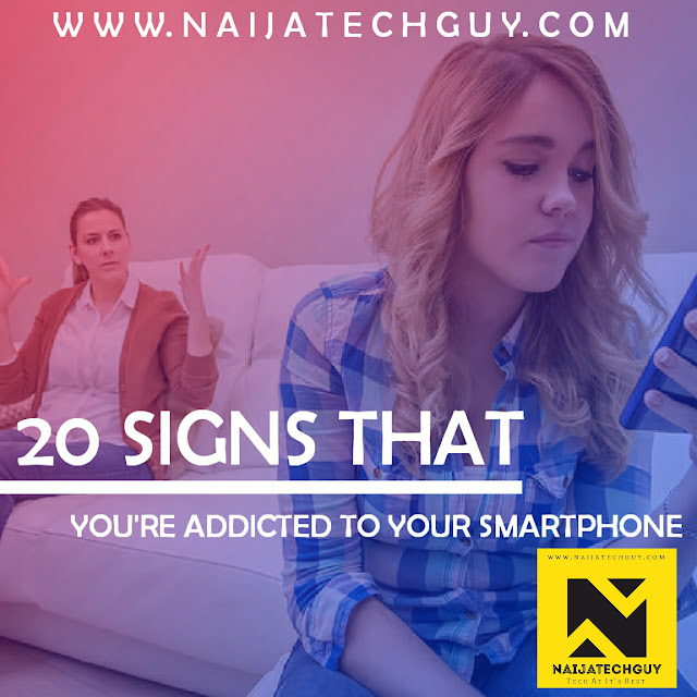 20 Signs That You're Addicted To Your Smartphone 1