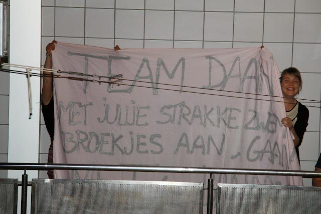 waterpolo Roeselare, vrouwelijke supporters van Daan