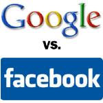Infographic : Facebook VS Google