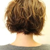 short layered asymmetrical bob hairstyle 2015 2016