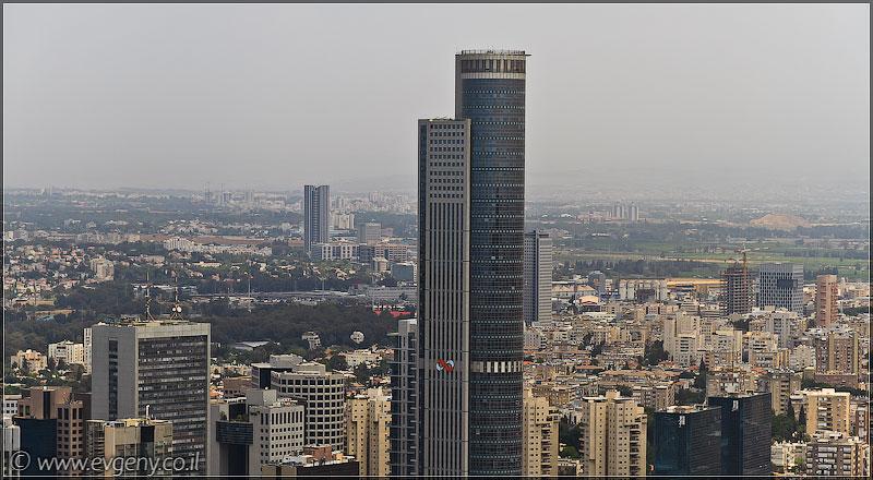 Дома изнутри: На крыше Азриэли   LookAtIsrael.com - Фотографии Израиля и не только...