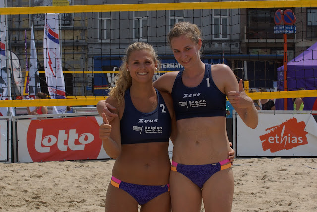 Emily Vanrenterghem en Ellen Verheyden