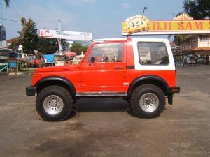 SuzukiJeepinfo: GENTA JIHADI │ Suzuki SJ410 Sierra 1984