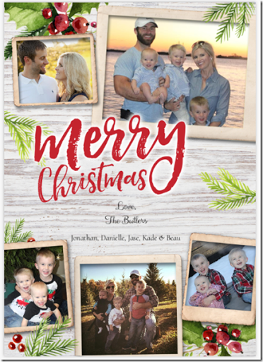 Butler Party Of 4 Christmas Cards 2017