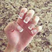 awesome french nails design 2016