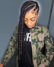 cornrow female styles 2018-2019
