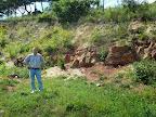 Am Earthcache 'Permian Triassic meeting' by ramgab (GC2C1R6)