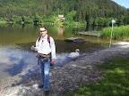 Der Vassacher See und meine Wenigkeit