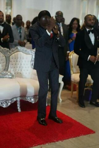 Photos Of Apostle Suleman Showing Off His Dancing Steps At An Event